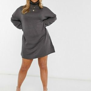 Misguided Turtleneck Sweater Dress